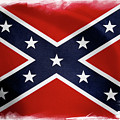 Confederate Flag 10 by Les Cunliffe