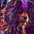 Dog Cavalier King Charles Spaniel  by PixBreak Art
