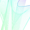 Dynamic And Bright Linear Spiral With Colorful Gradient by Eiko Tsuchiya