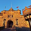 Edinburgh Castle, Scotland by Karol Kozlowski