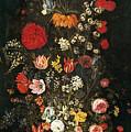 Flower Vase by Jan Brueghel the Elder