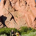 Garden Of The Gods Ten Mile Run In Colorado Springs by Steve Krull