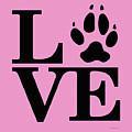 Love Claw Paw Sign by Gregory Murray