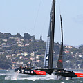 Oracle Team Usa by Steven Lapkin