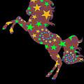 Rainbow Spiral Star Unicorn Design Poop Emoji by Kaylin Watchorn