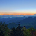 Springtime At Scenic Blue Ridge Parkway Appalachians Smoky Mount by Alex Grichenko