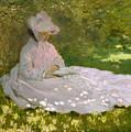 Springtime by Claude Monet