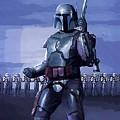 Star Wars Episode 2 Poster by Larry Jones