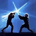 Star Wars Episode 3 Art by Larry Jones