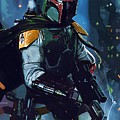 Star Wars Galactic Heroes Poster by Larry Jones