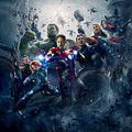 The Avengers Age Of Ultron 2015  by Geek N Rock