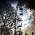 The London Eye Art by David Pyatt