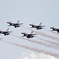 Usaf Thunderbirds by Victor Alcorn