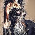 Wonder Woman by Anna J Davis