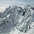 104726 Cornices On Denny Mountain by Ed Cooper Photography