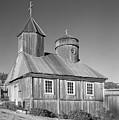 106038 Chapel At Fort Ross State Park Ca by Ed Cooper Photography