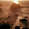106046 Sunset Kibesillah Beach Ca by Ed Cooper Photography