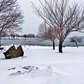 Obear Park In Winter by Scott Hufford