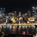 Pittsburgh Skyline At Night by Cityscape Photography