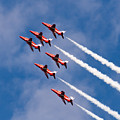 Red Arrows Display by Colin Rayner