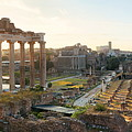 Rome Forum  by Songquan Deng
