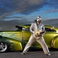 Silver Elvis by Oleksiy Maksymenko