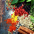 Spices And Herbs by Natalia Klenova