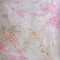 11. V2 Pink And Cream Texture Glaze Painting by Maggie Minor