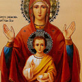Virgin And Child Religious Art by Carol Jackson