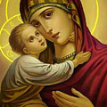 Mary And Child by Carol Jackson