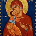 Virgin And Child by Carol Jackson