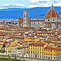 1167 Florence Italy Panorama by Steve Sturgill