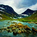 Nature Pictures Of Oil Paintings Landscape by World Map