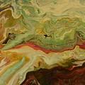 Acrylic Pour by Sonya Wilson