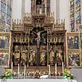 12 Apostles Altar - Rothenburg by Shirley Radabaugh