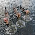 Fisherman Inle Lake - Myanmar by Joana Kruse