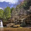 Hocking Hills Waterfall by Michael Shake