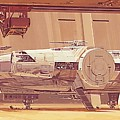 Movie Star Wars Poster by Larry Jones