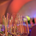 Party Setting With Colorful Bokeh Background by Eiko Tsuchiya