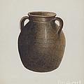 Stoneware Jar by Annie B. Johnston
