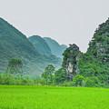 The Beautiful Karst Rural Scenery by Carl Ning