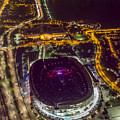 The Grateful Dead At Soldier Field Aerial Photo by David Oppenheimer