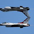 Usaf Thunderbirds by Victor Alcorn
