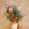 Vase Of Flowers  by Celestial Images