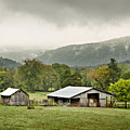1209-1116 - Boxley Valley Barn by Randy Forrester