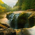 Nature Art Landscape Canvas Art Paintings Oil by World Map