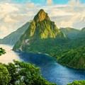 Landscape Art Nature by World Map