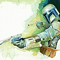 2 Star Wars Poster by Larry Jones