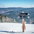 Beautiful Nature And Scenery Around Snowshoe Ski Resort In Cass  by Alex Grichenko
