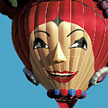 Carmen Miranda Balloon In Albuquerque by Carl Purcell